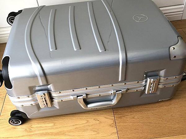 最高級※Mercedes-Benz ※アルミフレーム・軽量/静音・オリジナル・スーツケース/キャリーケース/機内持ち込可/24インチ/シルバー_画像6