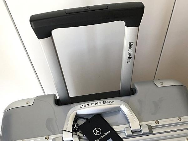 最高級※Mercedes-Benz ※アルミフレーム・軽量/静音・オリジナル・スーツケース/キャリーケース/機内持ち込可/24インチ/シルバー_画像5