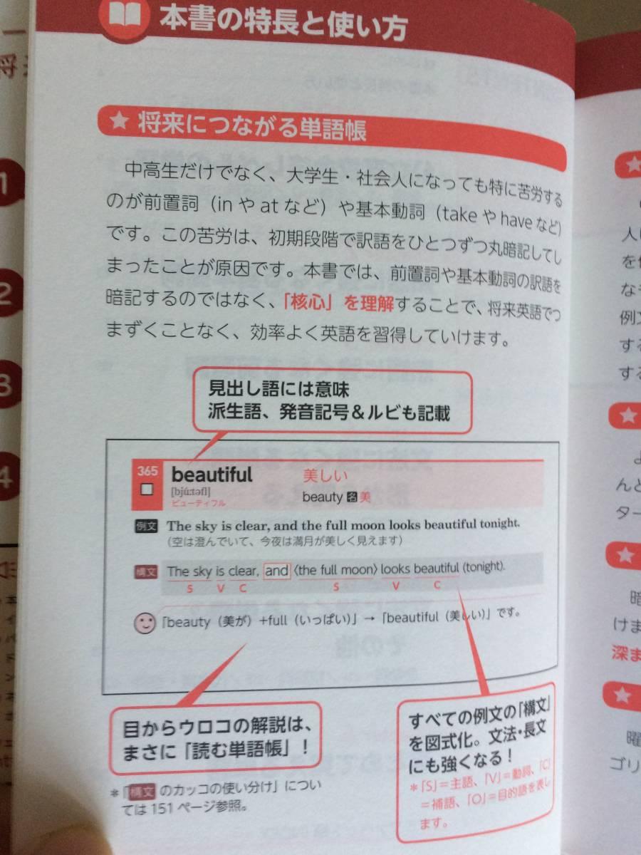 世界一わかりやすい中学英単語 高校入試 関正生 KADOKAWA スタディサプリ でる順ターゲット_画像3