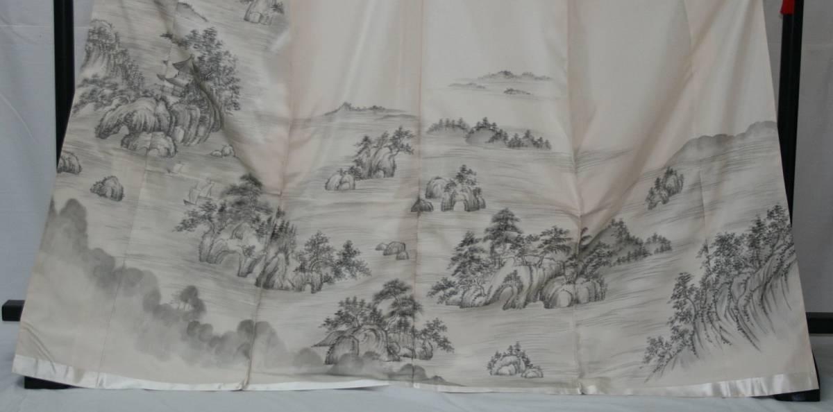 ◆高級お誂えお仕立付き◆幻の絹 三眠繭◆特別訪問着◆H047_画像2