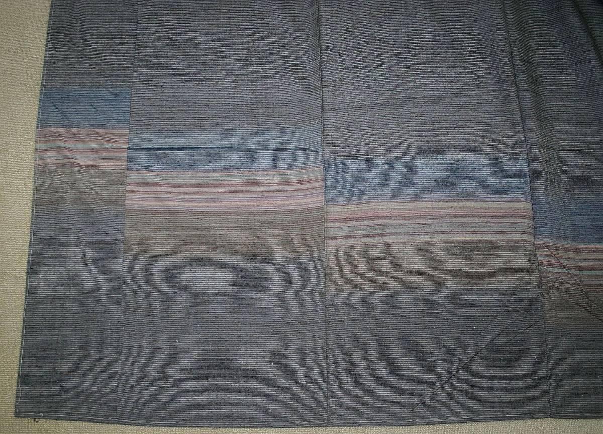 ◆高級お誂えお仕立付き◆特別民芸工芸品◆ぜんまい糸◆手織り真綿紬訪問着◆H051_画像4