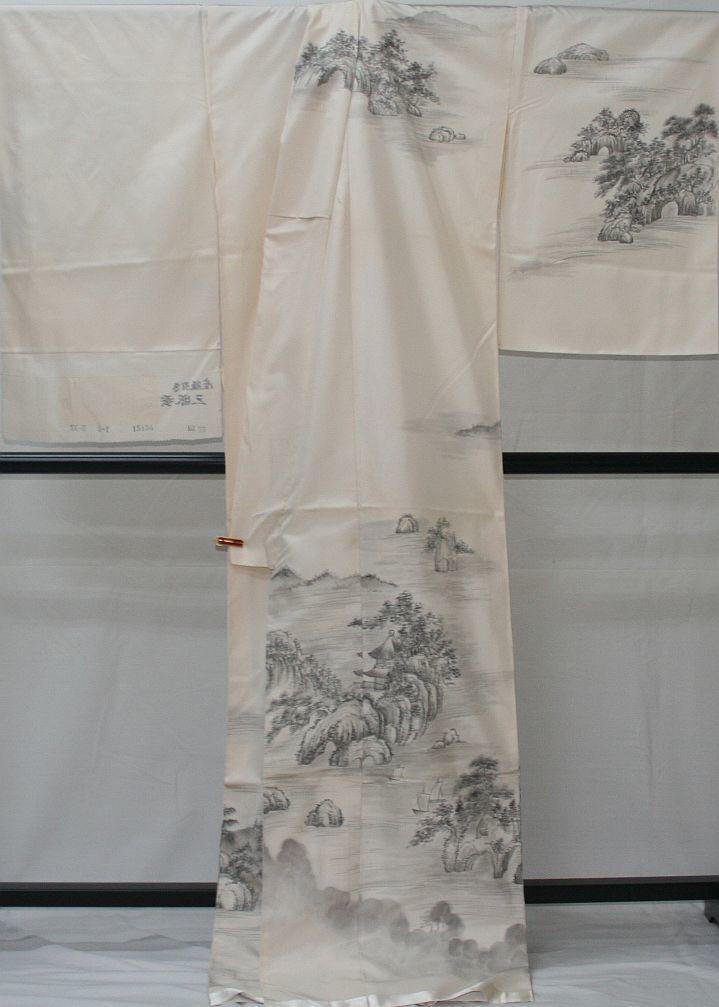 ◆高級お誂えお仕立付き◆幻の絹 三眠繭◆特別訪問着◆H047_画像4