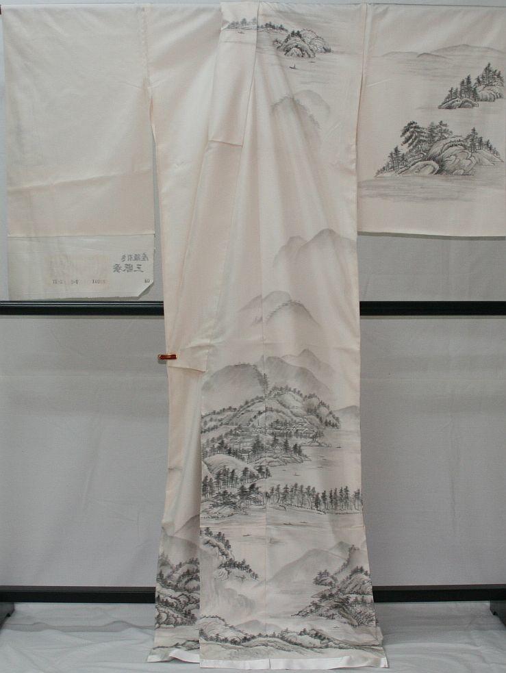 ◆高級お誂えお仕立付き◆幻の絹 三眠繭◆特別訪問着◆H048_画像4