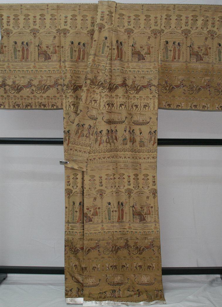 ◆高級手縫い仕立付◆ 横塚先生と将雪英◆総汕頭手刺繍訪問着◆_画像3