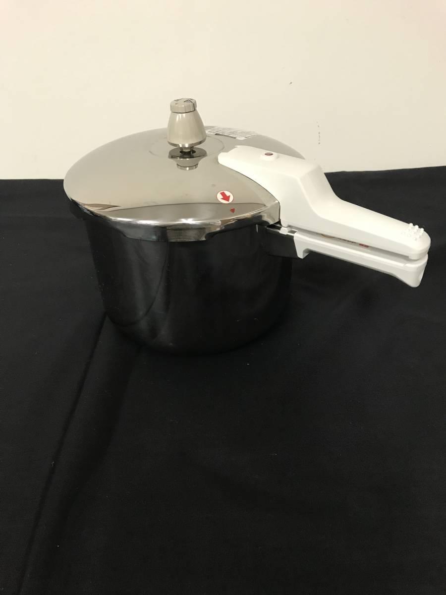 アサヒ軽金属工業 圧力鍋 IH対応 活力なべ 5.5L SW型 中古