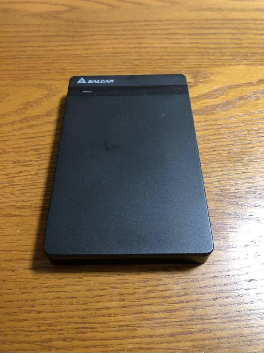 【100円スタート】SSD128gb + HDD 1tb 外付けケース付き_画像2