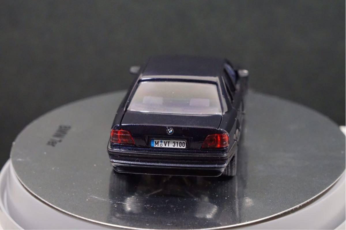 中古品 1/43 希少!BMWディーラー特注品!BMW 7er E38 7シリーズ ドア、ボンネット、トランク開閉 カタログナンバー80429422181_画像5