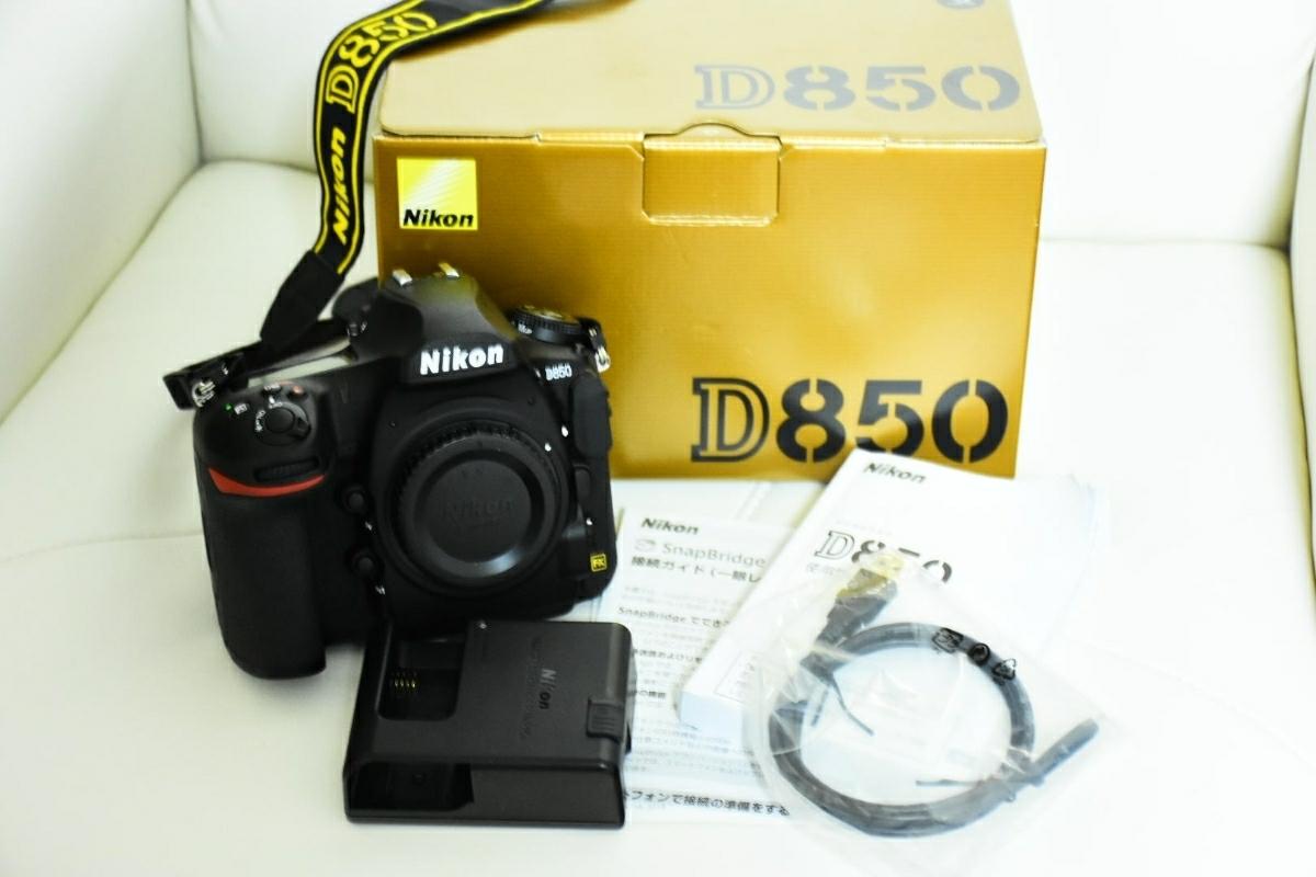 Nikon ニコン d850 ボディ 美品!