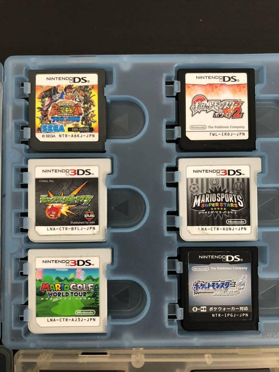 【16】3DS DS ゲーム ソフト CTR-001 / USG-001 ポケットモンスター ドラゴンボール マリオ まとめて セット ◆J-01_画像5