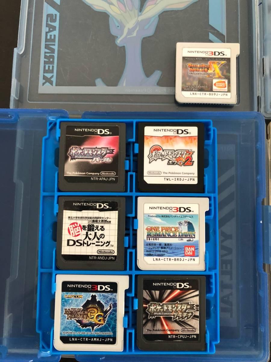 【16】3DS DS ゲーム ソフト CTR-001 / USG-001 ポケットモンスター ドラゴンボール マリオ まとめて セット ◆J-01_画像4