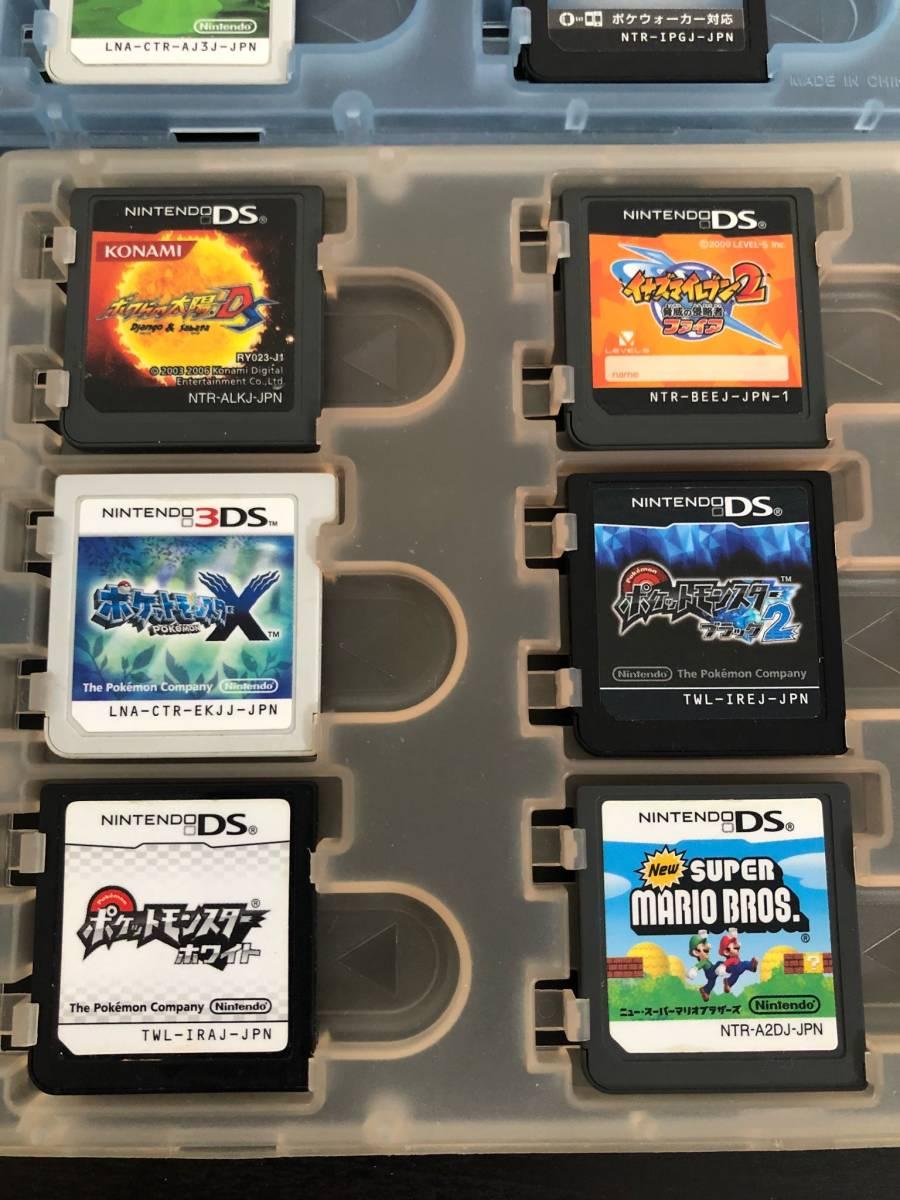 【16】3DS DS ゲーム ソフト CTR-001 / USG-001 ポケットモンスター ドラゴンボール マリオ まとめて セット ◆J-01_画像6