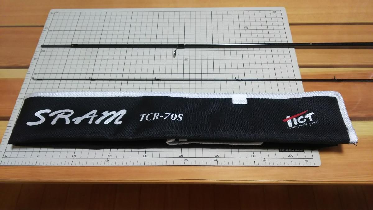 Tict SRAM UTR-67smr ティクト スラム アジングロッド 上位機種 超美品 メバリングにも♪_画像5