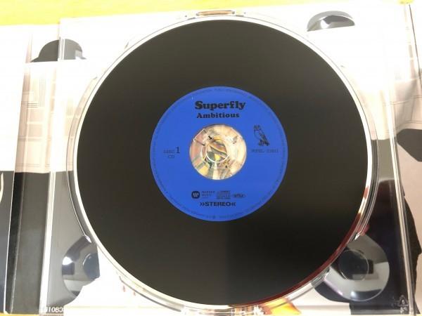 Superfly ニューシングル「Ambitious」初回限定盤 CD+Blu-ray Disc 「わたし、定時で帰ります。」主題歌_画像3