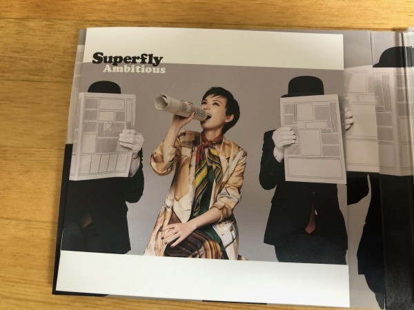 Superfly ニューシングル「Ambitious」初回限定盤 CD+Blu-ray Disc 「わたし、定時で帰ります。」主題歌_画像2