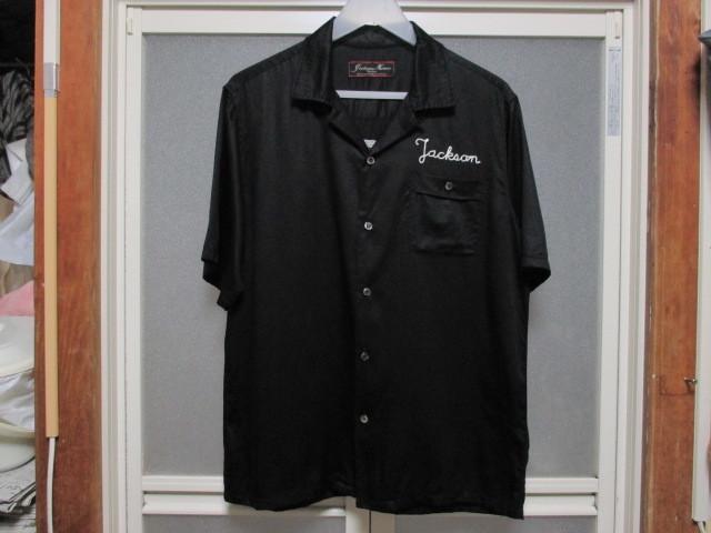 JACKSON MATISSE ボーリングシャツ チェーンステッチ刺繍 オールドヴィンテージスタイル ボウリング ボーラー ROCKABILLY 1950'S