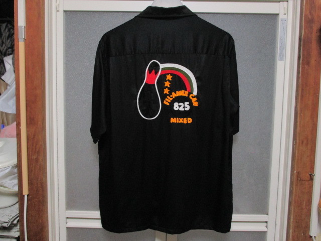 JACKSON MATISSE ボーリングシャツ チェーンステッチ刺繍 オールドヴィンテージスタイル ボウリング ボーラー ROCKABILLY 1950'S_画像2