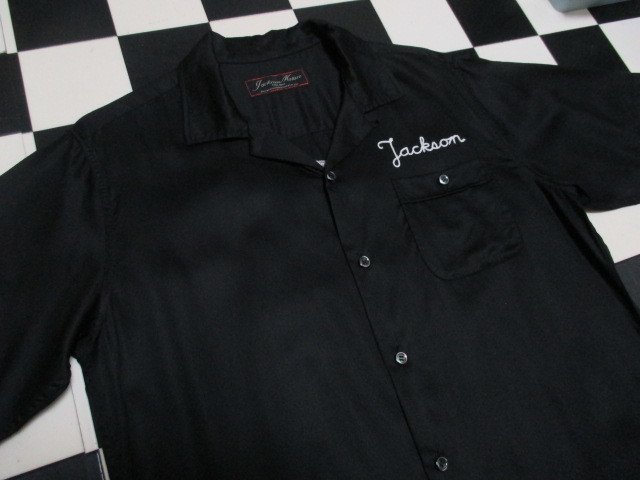 JACKSON MATISSE ボーリングシャツ チェーンステッチ刺繍 オールドヴィンテージスタイル ボウリング ボーラー ROCKABILLY 1950'S_画像10