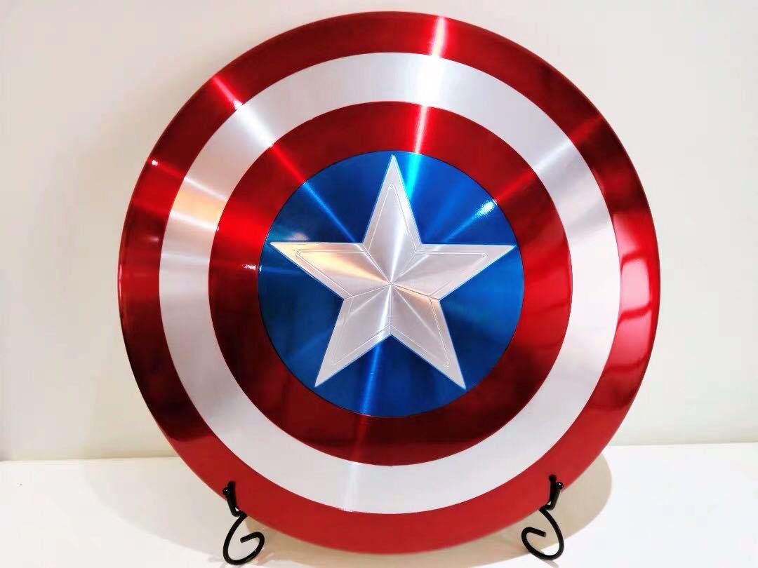 送料無料 新品Hasbro正規品Marvel Legends キャプテン・アメリカ Captain America 75周年記念 メタル・シールド 75th Anniversary Metal