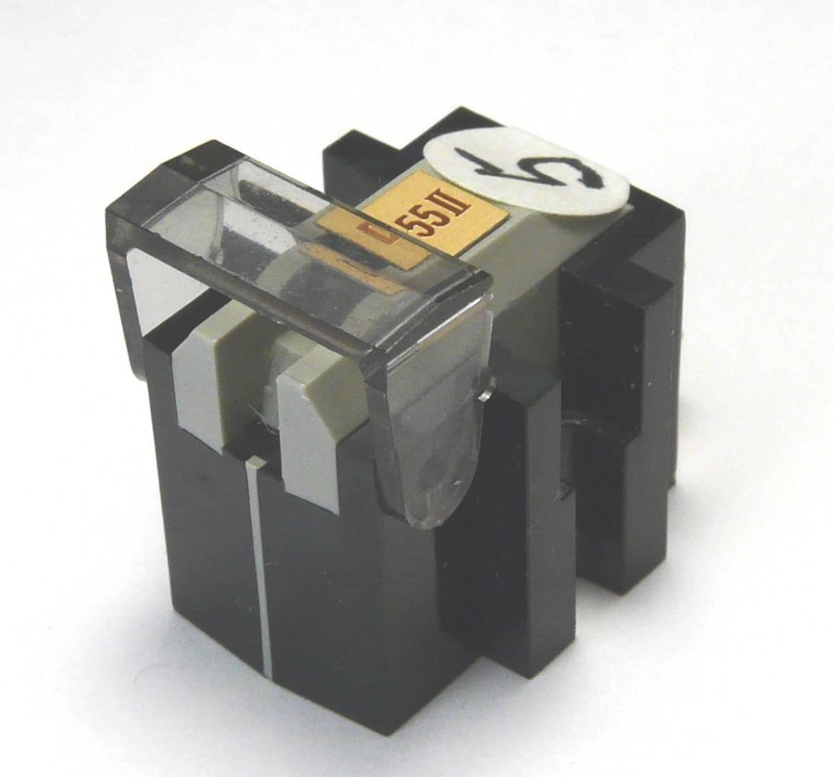 ⑤ DENON デノン DL-55Ⅱにaudio-technica オーディオテクニカ AT-OC9/Ⅲのボロンカンチレバーを移植した補修品_画像5