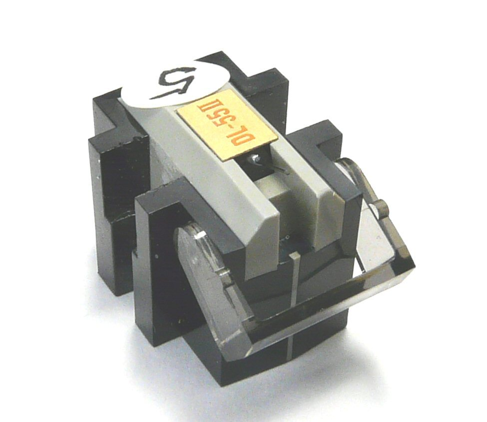 ⑤ DENON デノン DL-55Ⅱにaudio-technica オーディオテクニカ AT-OC9/Ⅲのボロンカンチレバーを移植した補修品_画像2