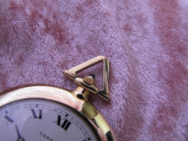 超レア良品☆カルティエ製(Cartier 製) アンティーク懐中時計☆18金無垢18KYG☆20石_画像4