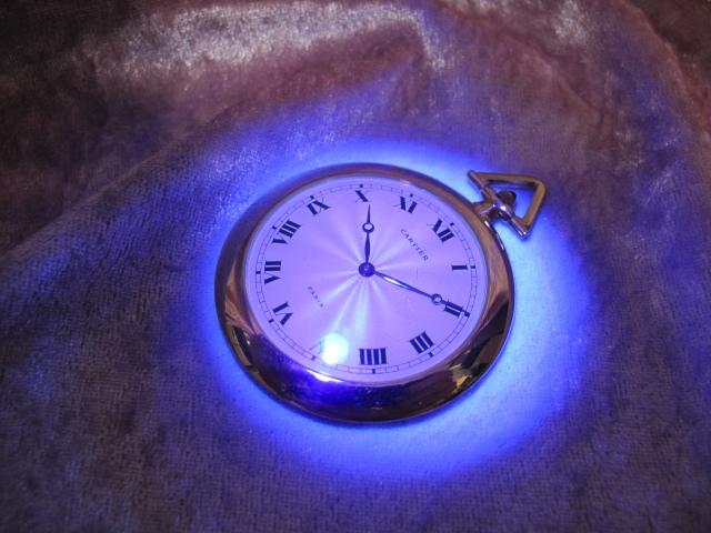 超レア良品☆カルティエ製(Cartier 製) アンティーク懐中時計☆18金無垢18KYG☆20石_画像10