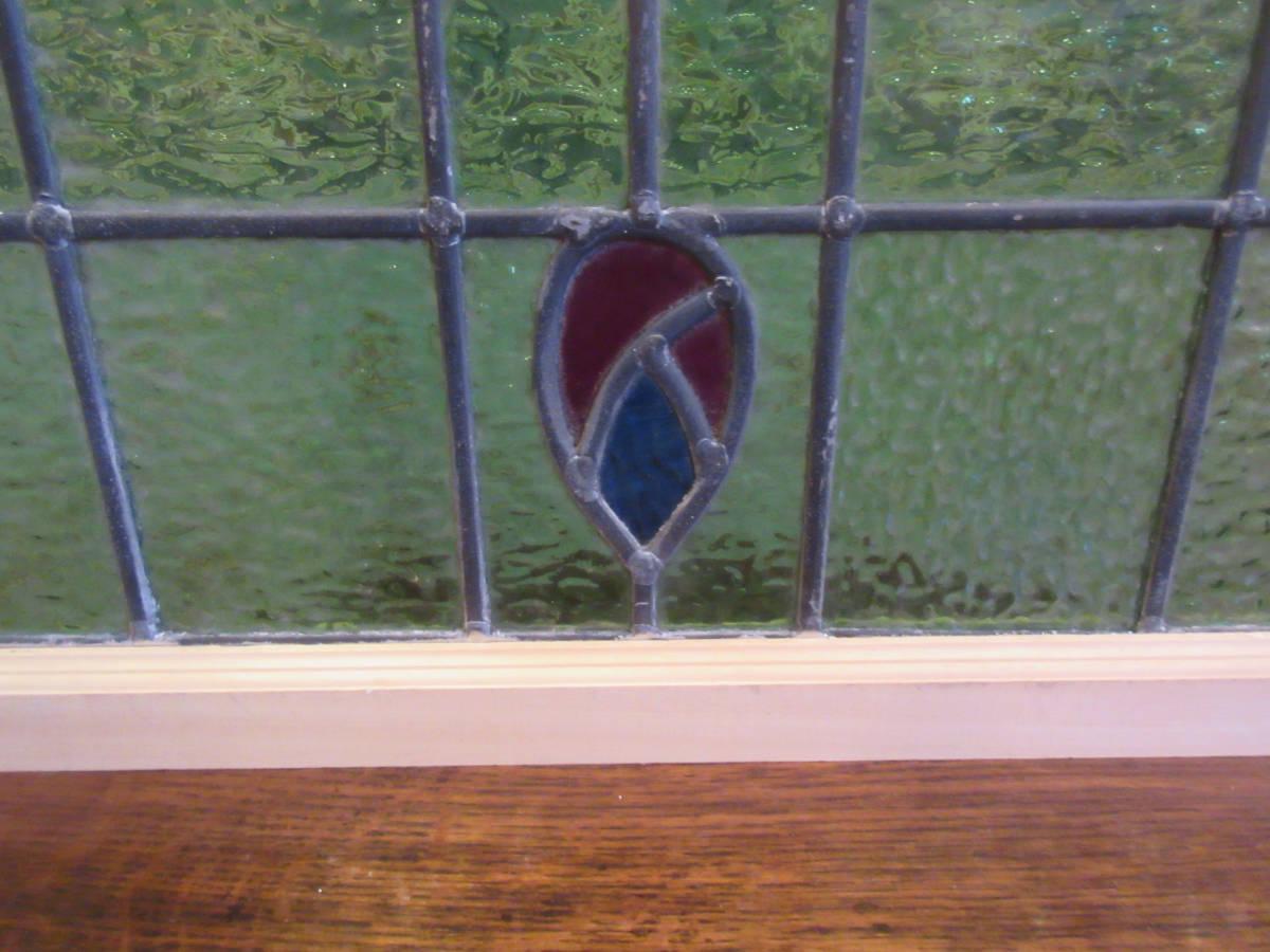 英国イギリスアンティーク家具/ステンドグラス*5_画像8