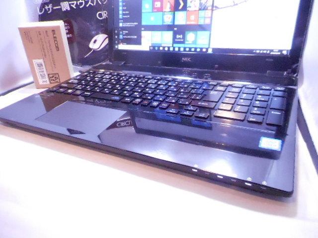 高速i7【7世CPU】+超高速新品SSD1TB☆メモリ16GB★フルHD★NEC LAVIE NS700HAB★Win10最新☆ブラック/Office2019/BD【7日間保障/送料無料】_画像3