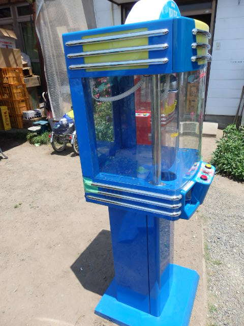 48/SNK筐体 中古/ネオミニ/UFOキャッチャー/青/ブルー/中古/neo mini クレーンゲーム/高さ約155cm_画像2