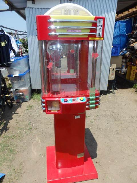 42/SNK筐体 中古/ネオミニ/UFOキャッチャー/赤/レッド/中古/neo mini クレーンゲーム/高さ約155cm