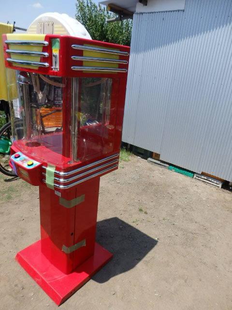 39/SNK筐体 中古/ネオミニ/UFOキャッチャー/赤/レッド/中古/neo mini クレーンゲーム/高さ約155cm_画像3