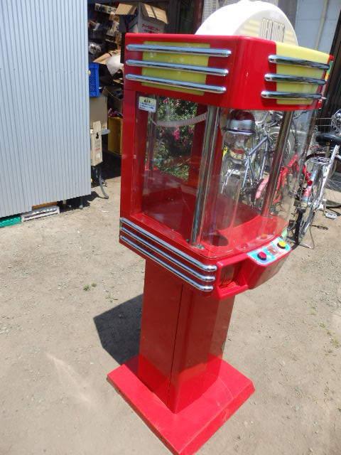 39/SNK筐体 中古/ネオミニ/UFOキャッチャー/赤/レッド/中古/neo mini クレーンゲーム/高さ約155cm_画像2