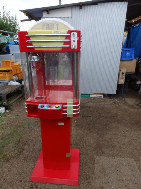 38/SNK筐体 中古/ネオミニ/UFOキャッチャー/赤/レッド/中古/neo mini クレーンゲーム/高さ約155cm