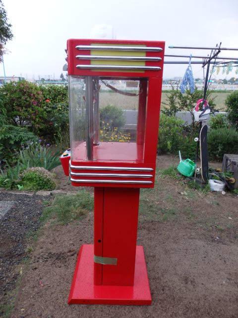38/SNK筐体 中古/ネオミニ/UFOキャッチャー/赤/レッド/中古/neo mini クレーンゲーム/高さ約155cm_画像2