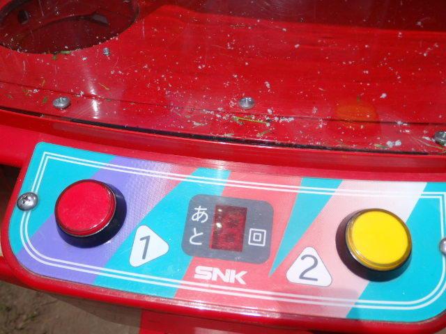 42/SNK筐体 中古/ネオミニ/UFOキャッチャー/赤/レッド/中古/neo mini クレーンゲーム/高さ約155cm_画像5