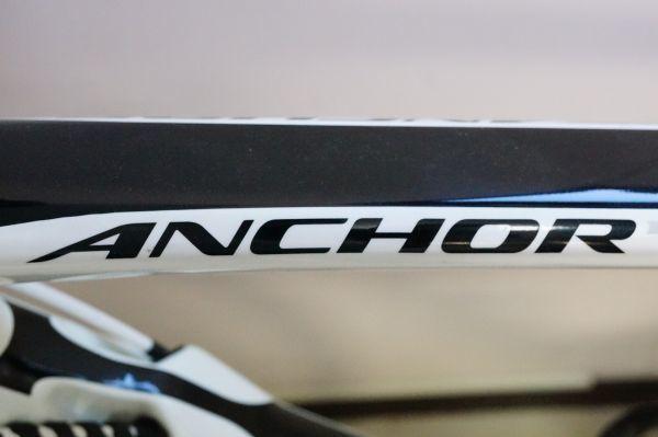 D0025らN]ANCHOR RL8 ULTEGRA 2014年 アンカー ロードバイク アンカー white ホワイト_画像10