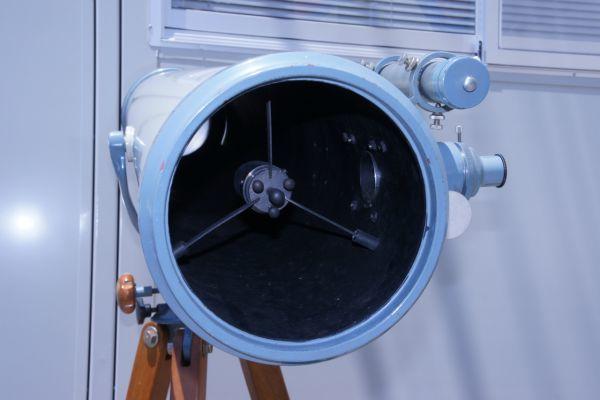 B1186サ着S】NISHIMURA FACTORY 西村製作所 ニシムラ 反射鏡筒+三脚 天体望遠鏡 西村氏サイン_画像3