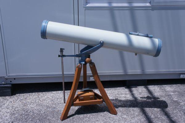 B1186サ着S】NISHIMURA FACTORY 西村製作所 ニシムラ 反射鏡筒+三脚 天体望遠鏡 西村氏サイン_画像2