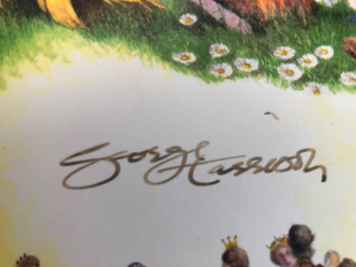 Songs by George Harrison Vol. 1 extra for review purpose roman# CXXVI Genesis Publications CD版 豪華本 廃版 直筆サイン入り_画像9