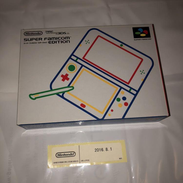新品未使用 Newニンテンドー3DS LL スーパーファミコン エディション