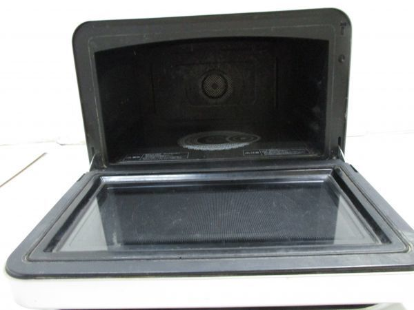 ★東芝 TOSHIBA 過熱水蒸気オーブンレンジ 石窯ドーム 30L レディッシュゴールド ER-HD300(N) 2010年製 A10530★_画像4
