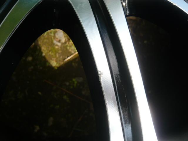 ★売切り★IMPAL AURA インパル アウラ SX-10 ブラポリ PCD100 6.5J アクアキューブマーチフィット軽カー等 4本セット_画像3