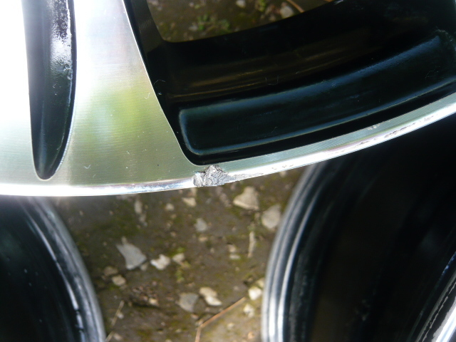 ★売切り★IMPAL AURA インパル アウラ SX-10 ブラポリ PCD100 6.5J アクアキューブマーチフィット軽カー等 4本セット_画像8