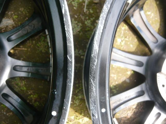 ★売切り★IMPAL AURA インパル アウラ SX-10 ブラポリ PCD100 6.5J アクアキューブマーチフィット軽カー等 4本セット_画像10
