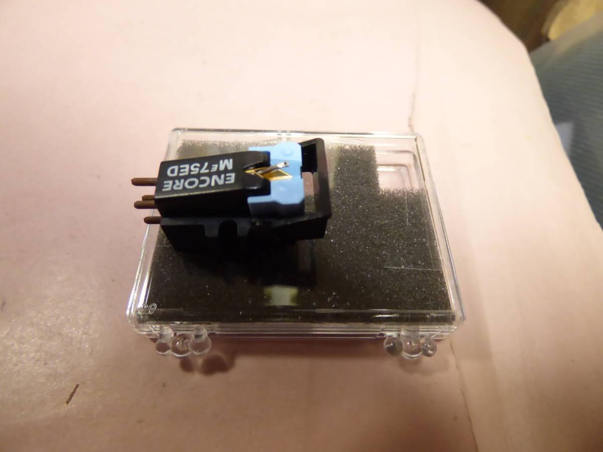 SHURE ME75ED + JICO製 未開封新品楕円交換針_画像2