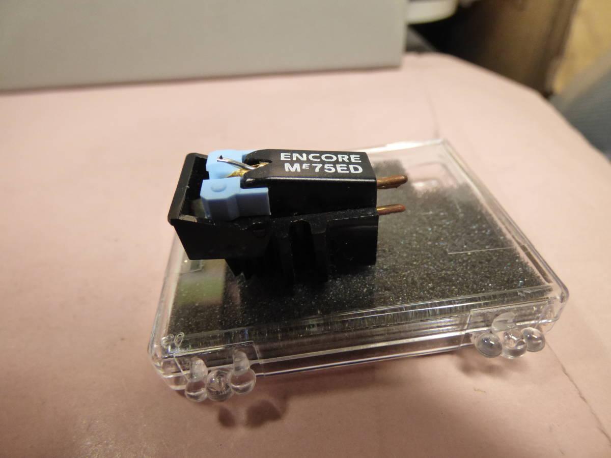 SHURE ME75ED + JICO製 未開封新品楕円交換針_画像4