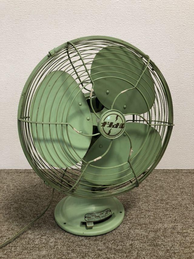 ナショナル 1952年製 レトロ扇風機 昭和レトロ ビンテージ家電 当時物 _画像2