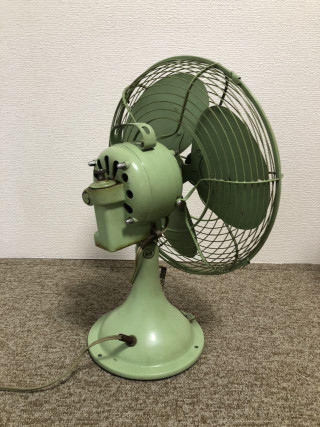 ナショナル 1952年製 レトロ扇風機 昭和レトロ ビンテージ家電 当時物 _画像4