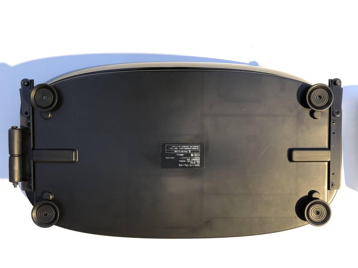 超美品。ドクターエア 3DスーパーブレードS SBー002BKDr.Air エクササイズ 振動マシン 。_画像3