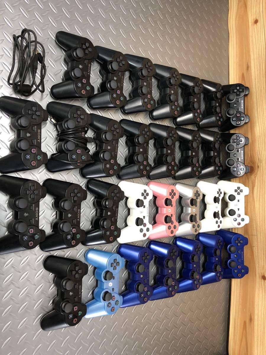 ジャンク PS3 SONY 純正 DUALSHOCK3 コントローラー まとめて 大量 70個。_画像6